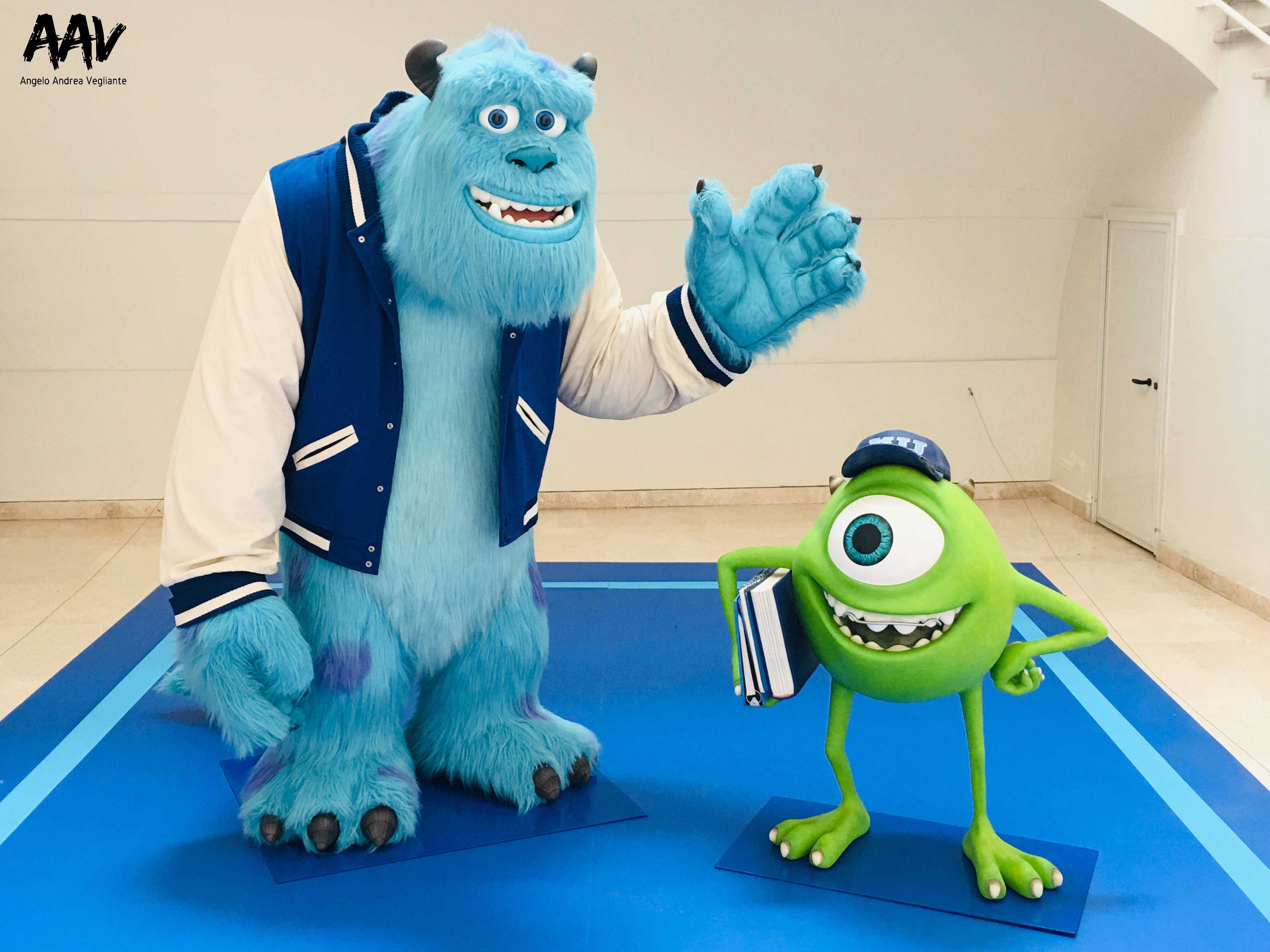 Monsters & Co.-pixar-pixar 30 anni di animazione-film-palazzo delle esposizioni-roma-angelo andrea vegliante