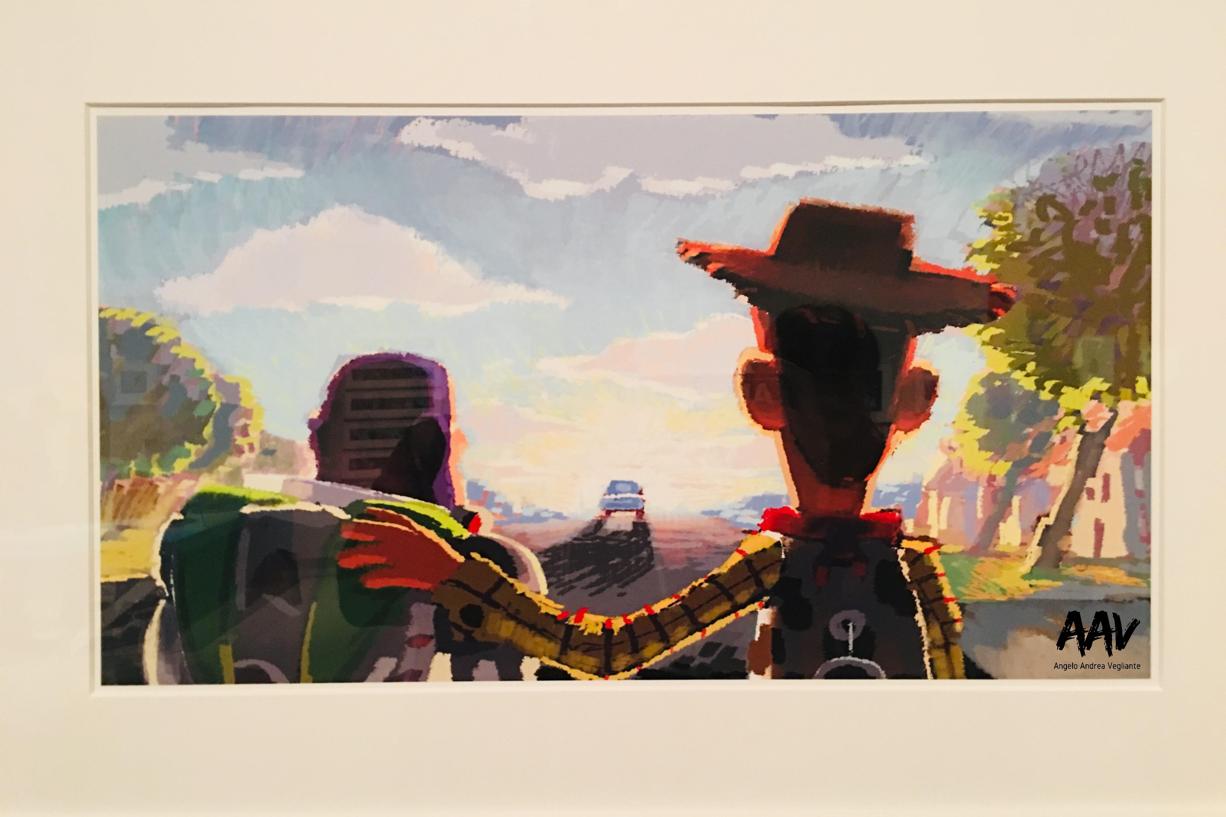 toy story 3-pixar-palazzo delle esposizioni-roma-angelo andrea vegliante-arte