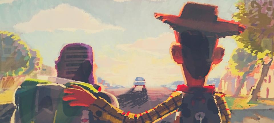 pixar-angelo andrea vegliante-colui che veglia-pixar 30 anni di animazione-roma-palazzo delle esposizioni-arte