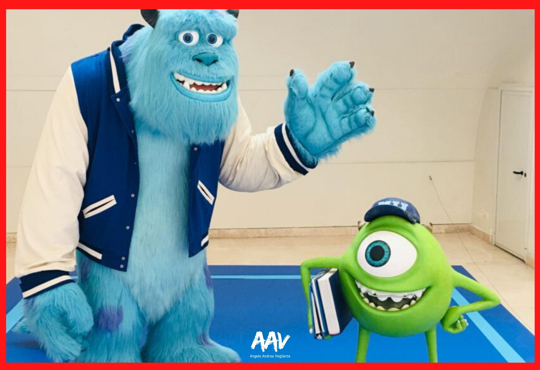 monster e co alla mostra pixar