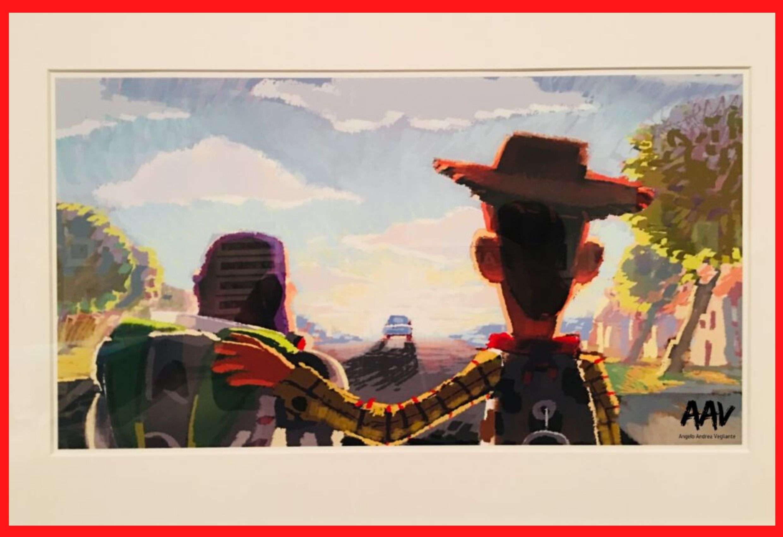 toy story alla mostra pixar