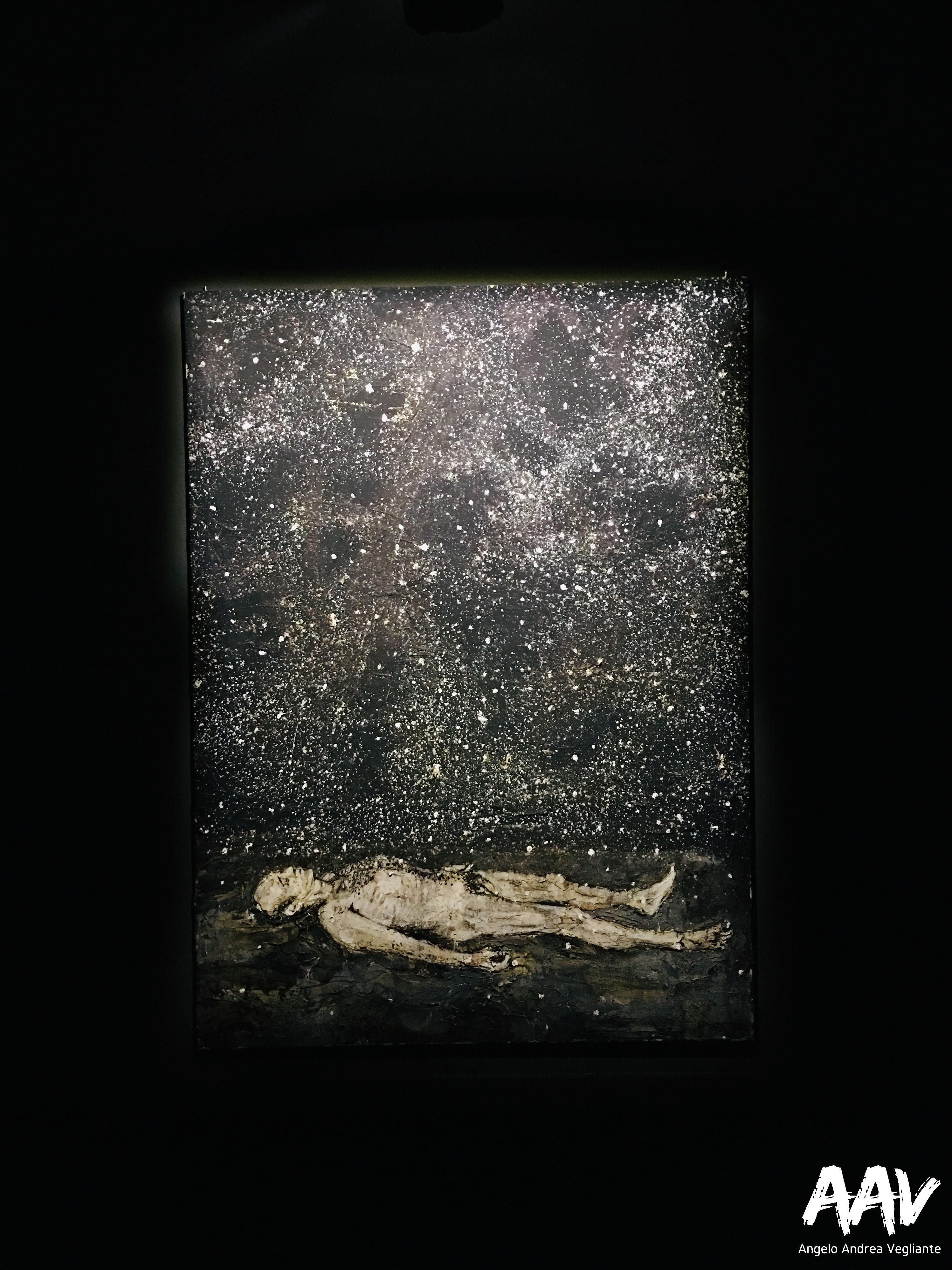 sogni-dream-angelo andrea vegliante-colui che veglia-dimensione onirica-quadro-chiostro del bramante-roma
