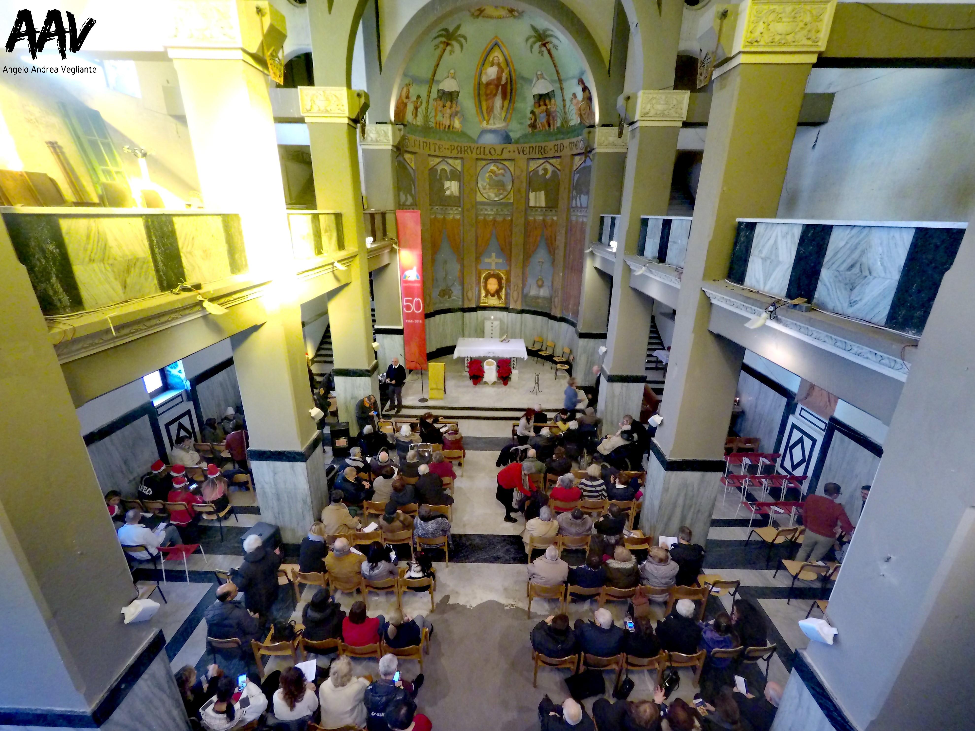 angelo andrea vegliante-chiesa di sant'egidio ostia lido-ostia-chiesa di sant'egidio-comunità sant'egidio-pranzo di natale