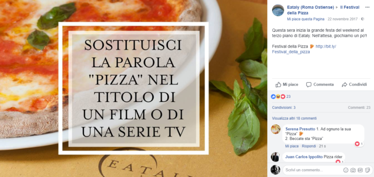 Quiz-pizza