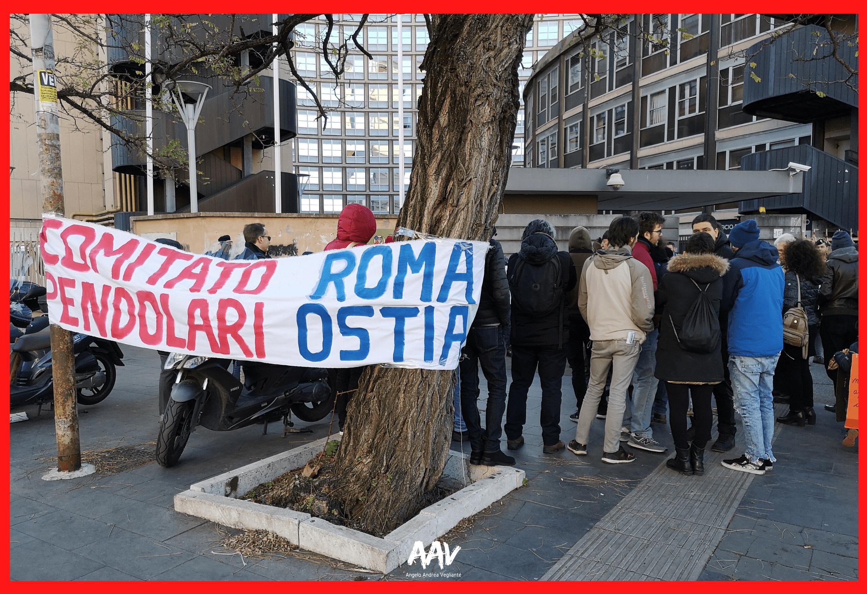 manifestazione regione lazio roma lido